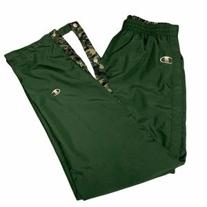 Vintage Champion Tear Aways in Forest Green